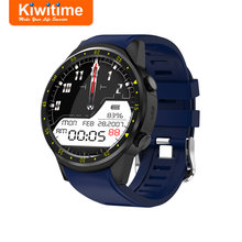KIWITIME KF01 GPS Smart Watch Connect Compass Heart Rate Monitor Men Sport Bluetooth Smartwatch for iPhone Samsung Android Phone(China)
