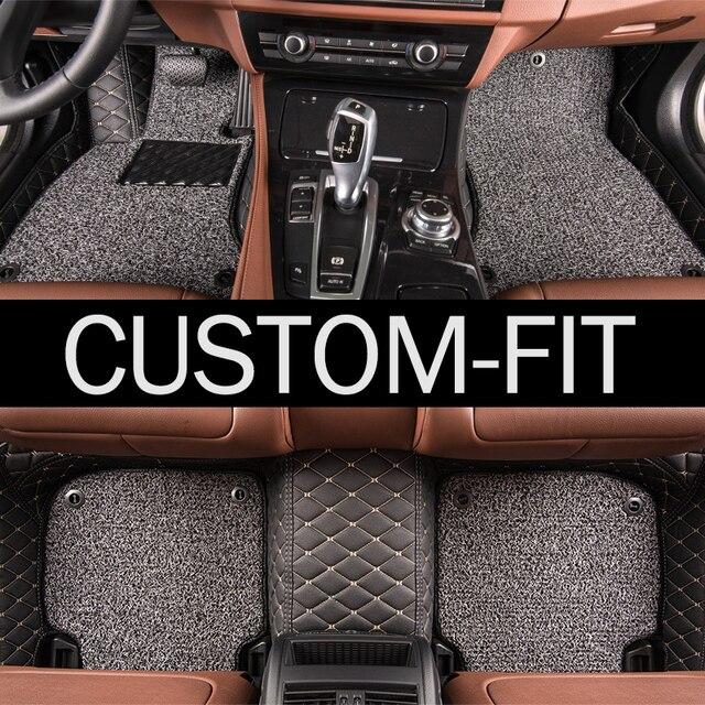 WK Марка Автомобильные коврики для Mercedes Benz GL X164 X166 GLS class GL350 GL450 GL550 GLS350 GLS350 GLS500 стайлинга автомобилей ковер