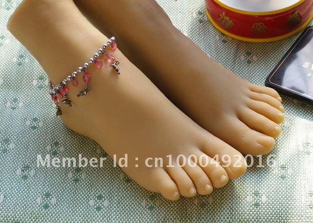 sex doll solid silicone fake feet Pussy Foot female foot model  feet fetishist stuff girls feet #3602