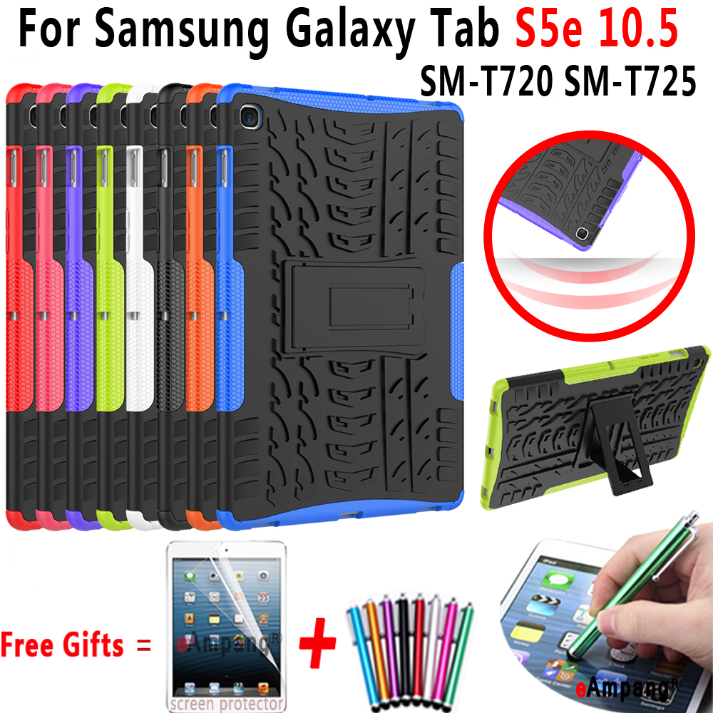 Silicon Case For Samsung Galaxy Tab S5e 10.5 Case Cover T720 T725 SM-T720 SM-T725 Tablet Shell Drop Resistance Shockproof Funda