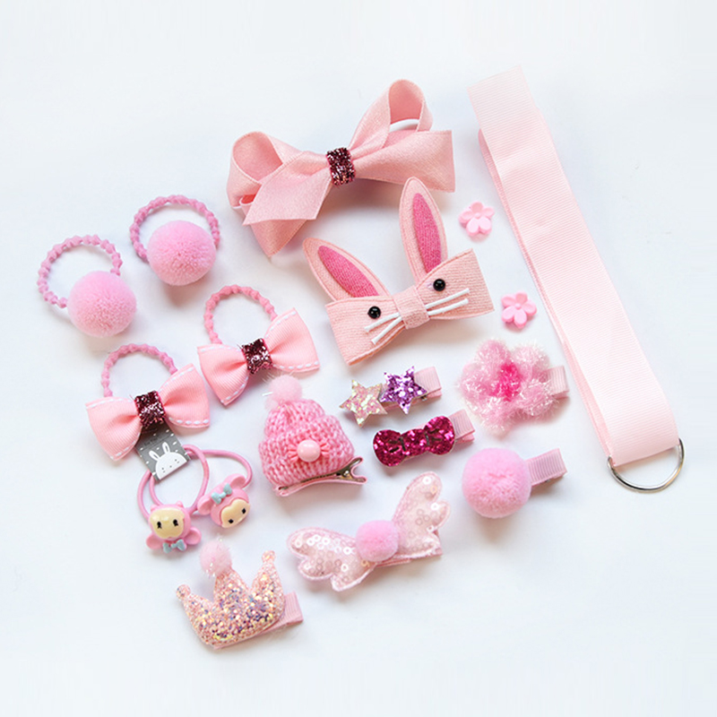 Kids Headwear Set Children Girls Hair Accessories Printed Cross Hair Band Baby Knot Cross Headband Baby Girls Floral Hairbands