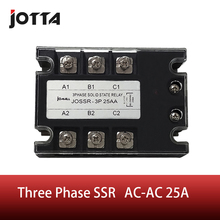 цена на 25A AC control AC SSR three phase Solid state relay
