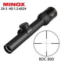 Hunting MINOX ZA 5 HD 1.2 6X24 BDC 800 Reticle Compact Rifle Scope Long Eye Relief Tactical Optical Sight RifleScopes