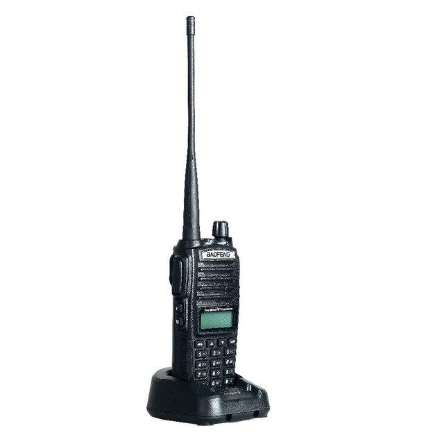 BaoFeng УФ-82 Рация 5 Вт 10 КМ Walkie Talkie любительское радио двойной PTT handie-talkie Pofung уф 82 любительское радио бесплатно гарнитура