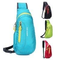 Unisex Nylon Chest Backpack Outdoor Hiking Sport Crossbody Shoulder Bag Men Women Diagonal Package Rucksacks 2015