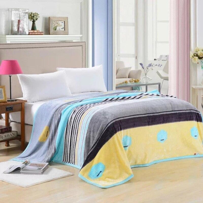 ФОТО Modern Soft Flannel blanket Cute Animals/Simple Geometric patterns Coral Fleece velvet Blankets plaid blankets for bed throw