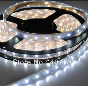 IP68 waterproof DC 12v SMD 3528 60led flexible led light strip 20metres/Lot for swimming pools and Sauna Houses