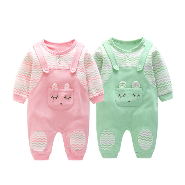 03c04d1413e61 US $15.2 |Newborn 2017 New Baby Clothes 2 Color Long sleeve A Type Organic  Cotton Baby Girl Romper Infantil Menina Kids Boys Jumpsuit-in Rompers from  ...
