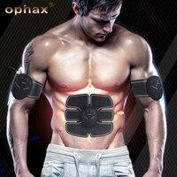 OPHAX Wireless Muscle Stimulator EMS Stimulation Body Slimming Machine Abdominal Muscle Exerciser Training Device Body Massager