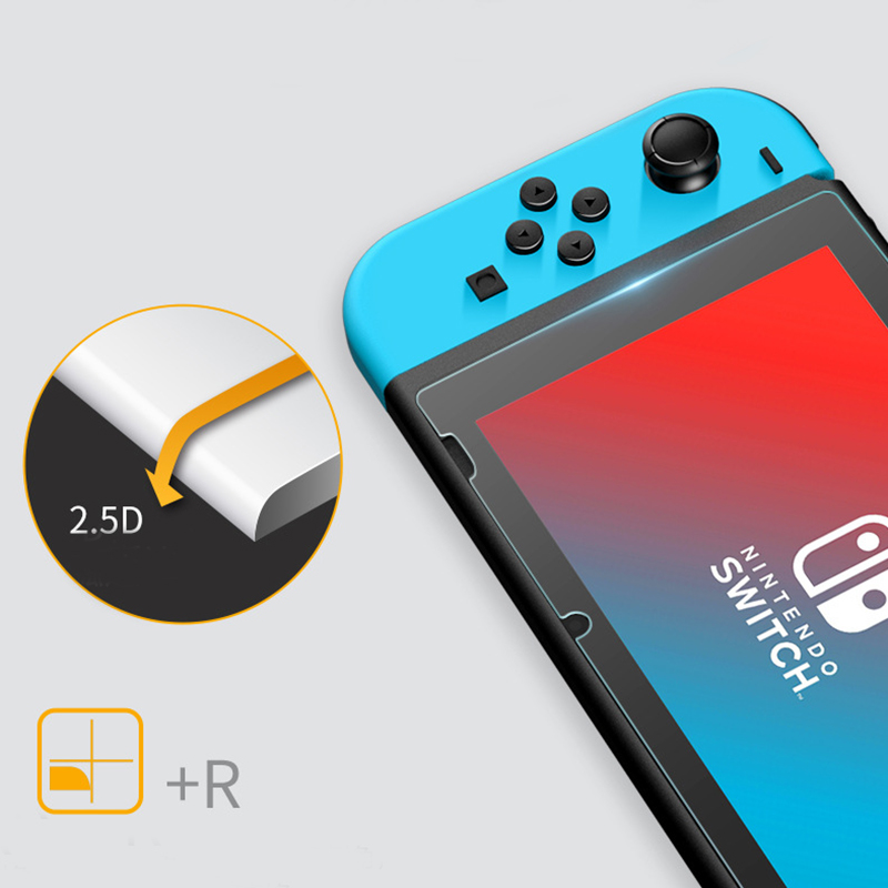 9H Tempered Glass Screen Protector Eye Protection For Nintend Switch Screen Protector film For Nintendo Switch NS NX Accessories in Phone Screen Protectors from Cellphones Telecommunications
