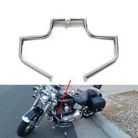 Engine Guard Crash Bar Bumper Fairing Body Frame Protector for Harley Softail Fat Boy FLSTF FLSTFI 2001 2006 2005 2004 2003 2002