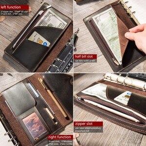 Image 5 - Reiziger S Notebooks En Tijdschriften Handgemaakte Organizer A5 A6 Blocnotes Planners Creatieve Planner Dagelijks Freeprint Schetsboek