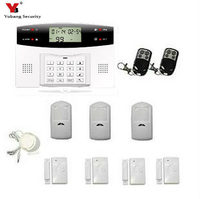 Yobang Security Smart Home Alarm Wireless 433Mhz Sensors Alarmes Wireless GSM Alarm System For Home Security System Quad Band