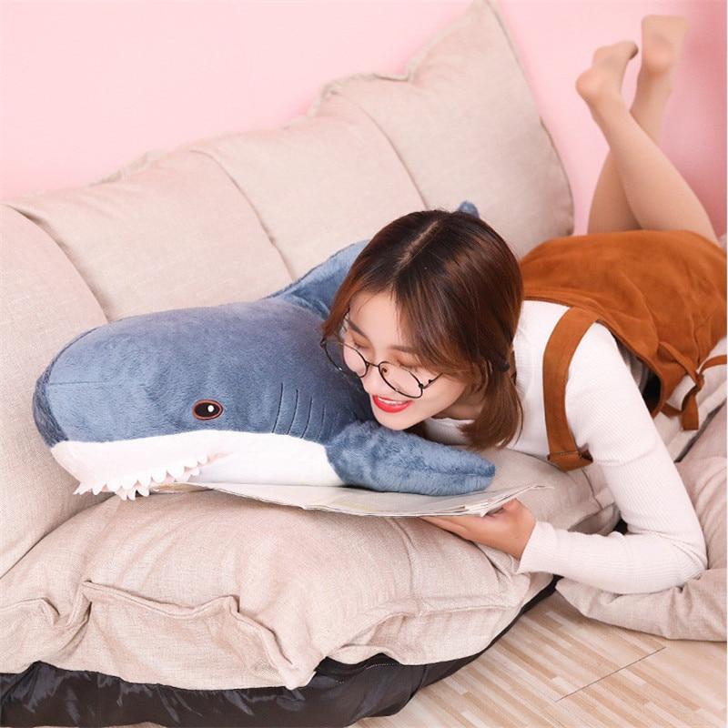 plush toy stuffed toy shark children's toys boy cushion girl animal reading pillow pillow birthday Christmas gift 6