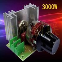 Universal 220v 3000w Fireplace Stove Temperature Regulator Infinite Regulator Free Shipping
