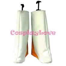 Shugo zapatos de Cosplay de chará, botas hechas a mano para Halloween, Festival de Navidad