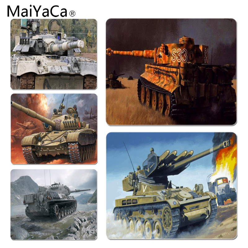 MaiYaCa Tank Large Mouse pad PC Computer mat Size for 18x22x0.2cm Gaming Mousepads