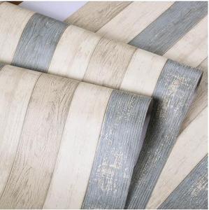 Image 2 - Grano di legno dalla parete impermeabile adesivo di carta bastone della parete camera da letto carta da parati mobili armadio guardaroba adesivi ristrutturazione