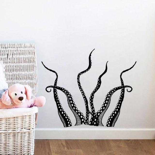 Schön Aliexpress Kunst Neue Design Haus Dekor Meer Tier Octopus   Badezimmer Jumbo