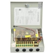 Safurance 9 канальный 8CH видеонаблюдения камера распределения питание коробка DC 12 В в 10A охранных Детская безопасность