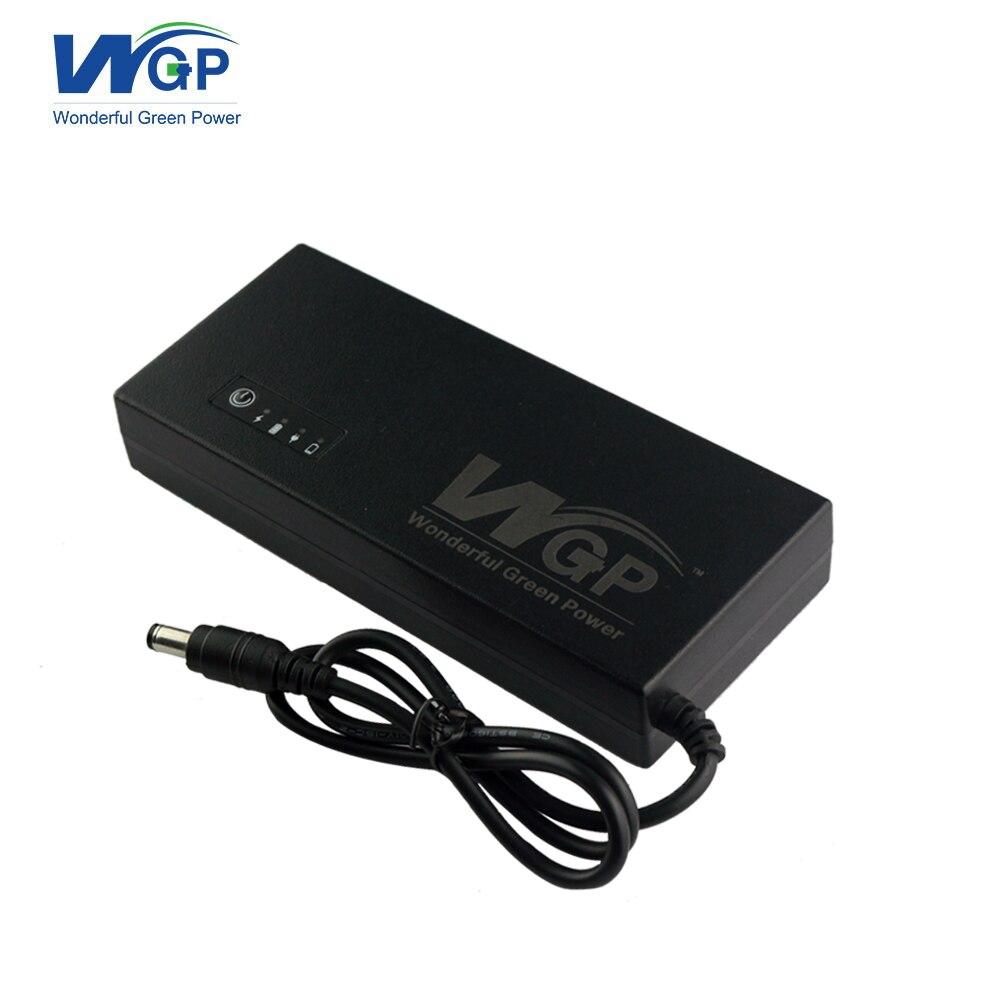 Source d'alimentation ininterrompue Rechargeable 12 V 3A mini ups routeur alimentation de secours avec pile au lithium 5C