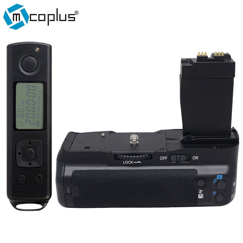 купить Mcoplus BG-550DR Vertical Battery Grip for Canon EOS 550D/600D/650D/700D Rebel T2i/T3i/T4i/T5i With 2.4G Wireless Remote Control по цене 3943.86 рублей