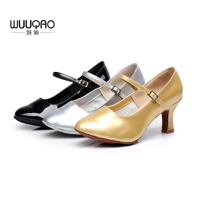Inventive Brand New Women's Modern Ballroom Latin Tango Dance Shoes Heeled Salsa Modern Dance Shoes