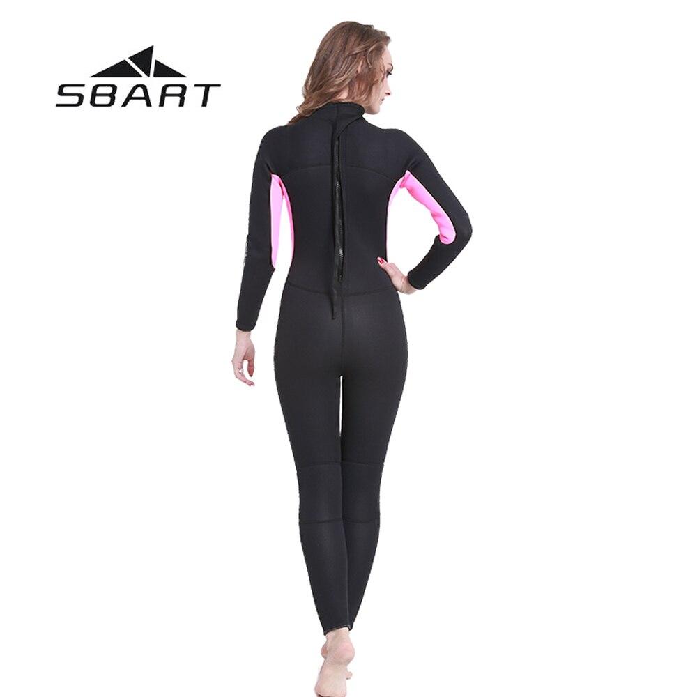 SBART 3mm Neopren dalğıc kostyumu, tam bədəni olan - İdman geyimləri və aksesuarları - Fotoqrafiya 5