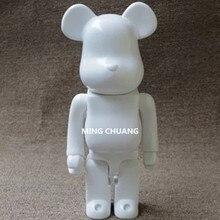 11 дюймов быть @ rbrick 400% Bearbrick мрачные кусочки клея DIY граффити BB Виниловая фигурка Коллекционная модель Toy BOX D173