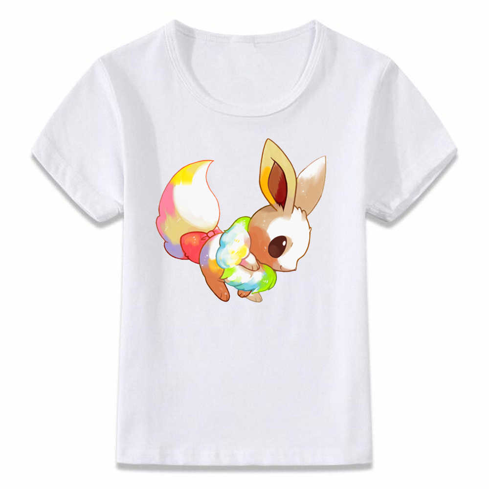facf7f21f ... Kids Clothes T Shirt Eevee and Toothless Pokemon Sci-fi Boys and Girls  Toddler Shirts ...