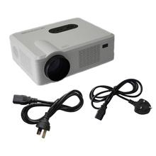 CL720 LED Projector 3000 Lumens 1280 x 800 Pixels with Analog TV Interface for Home Entertainment White EU/AU/UK/US Plug