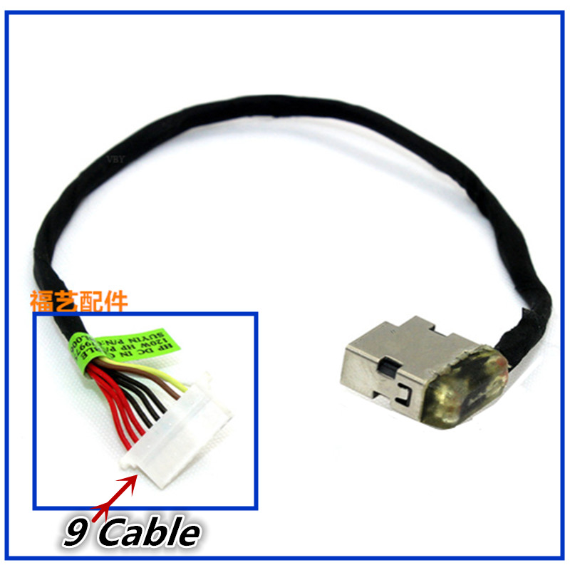 New Laptop DC Power Jack Cable Charging Port Wire Cord For HP Envy M7-N M7-R 17-N 17-R 17T-N000