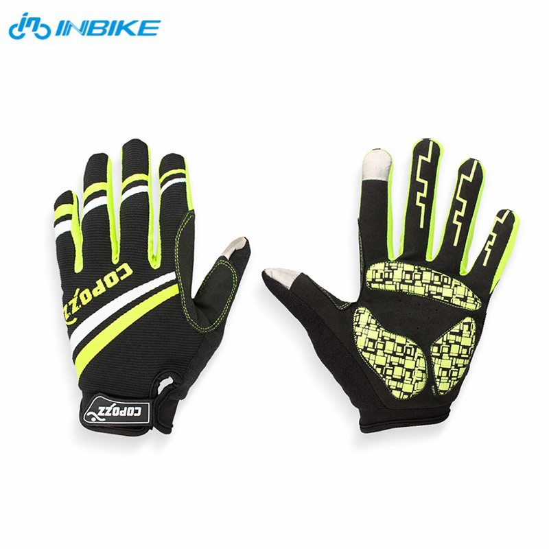 Brand New Arrive 1 pair Outdoor Cycling Glove Bike Cycling Riding Gloves Long finger All gloves Silicone Gloves Free shipping!