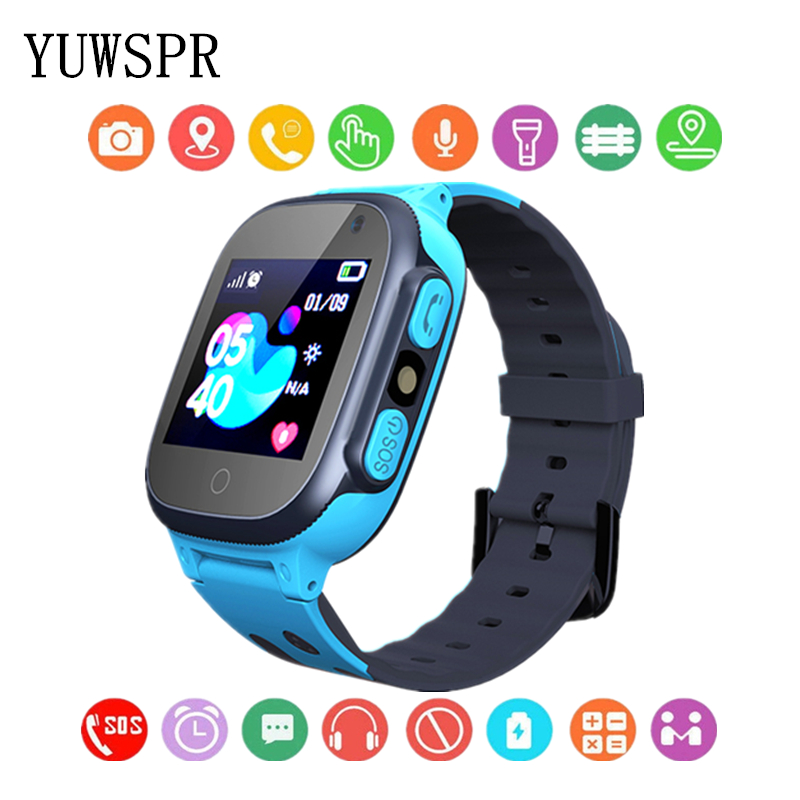 Camera Wristwatch Tracker Children Gift Digital Waterproof Kids New LBS Android Q15 1pcs