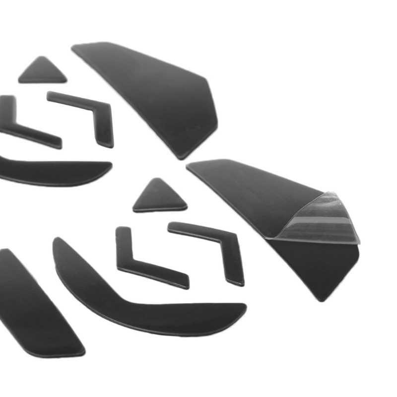 4 مجموعات 0.6 مللي متر تفلون الماوس زلاجات الماوس ملصقات الوسادة ل لوجيتك G502 الليزر الماوس