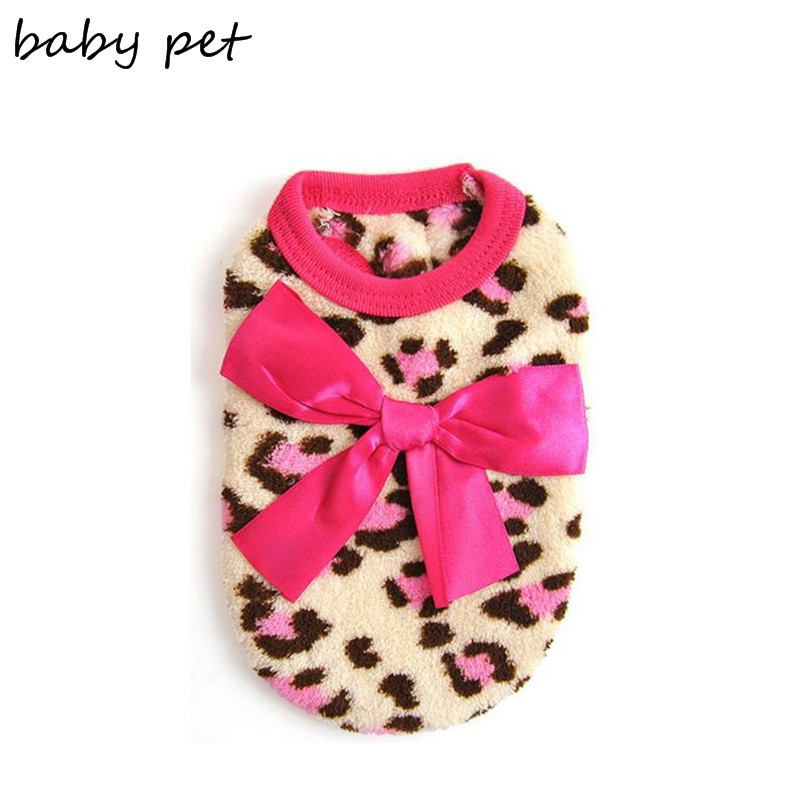 Ücretsiz nakliye ucuz küçük kediler için kedi giyim yumuşak polar giysiler kış leopar giyim için köpek chihuahua köpek giysileri