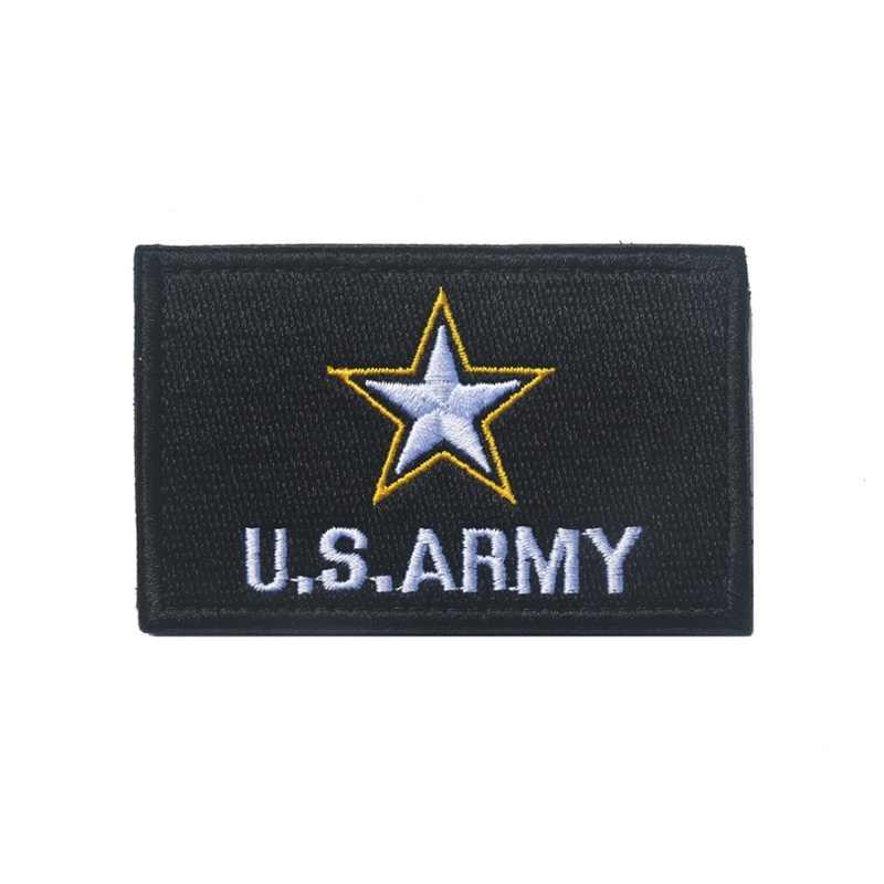 Cool 23 Soorten Patronen Handgemaakte Borduurwerk rugzak, hoed, schooltas, kleding Outdoor Militaire Training Identificatie J3
