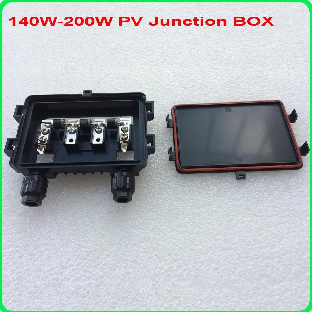 Solaire Boîte de jonction PV Connexion Box avec 1 Diode pour panneau