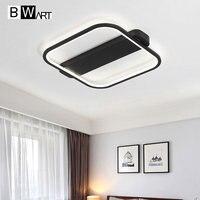 BMART Modern Minimalism LED Chandelier Creative Bedroom Living Room Ceiling Chandelier Lighting