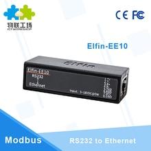 RS232 シリアルポートにイーサネットサーバアダプタコンバータモジュールワイヤレスネットワーキングデバイスサポート TCP/IP Telnet Modbus プロトコル EE10 Q213
