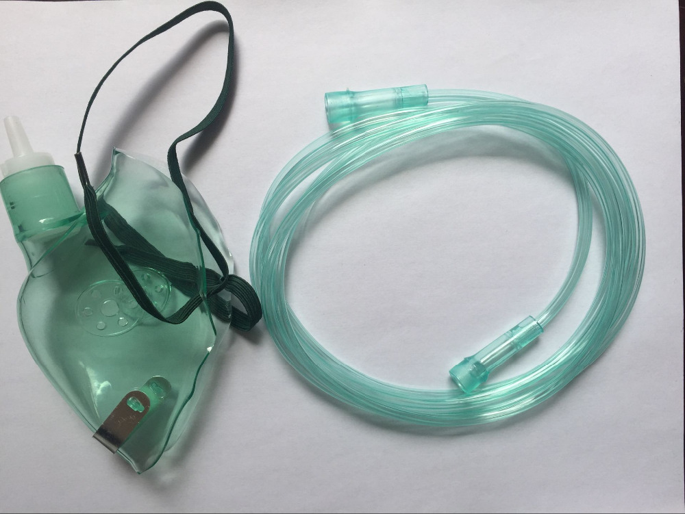 Free shipping Non Rebreathing Face Mask High Oxygen Concentration with Reservoir Bag High Quality