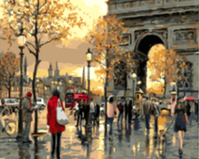 "DIY Painting By Number – Paris (16""x20"" / 40x50cm)"