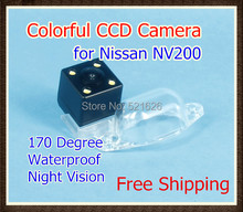 Waterproof Special 4LED CCD Car Rear view camera Reverse Backup Parking Camera for Nissan NV200