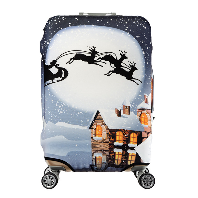 HMUNII Elastic Luggage Protective Cover For 19-32 inch Trolley Suitcase Protect Dust Bag Case Child Cartoon Travel Accessories 4