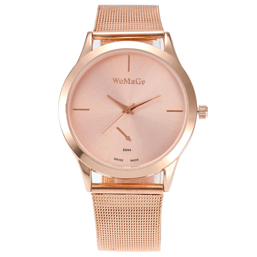 2017 New Fashion Female Clocks Women watches Luxury Quartz Watch Rose Gold Watch Alloy Quartz Ladies relogio feminino rigardu fashion female wrist watch lovers gift leather band alloy case wristwatch women lady quartz watch relogio feminino 25