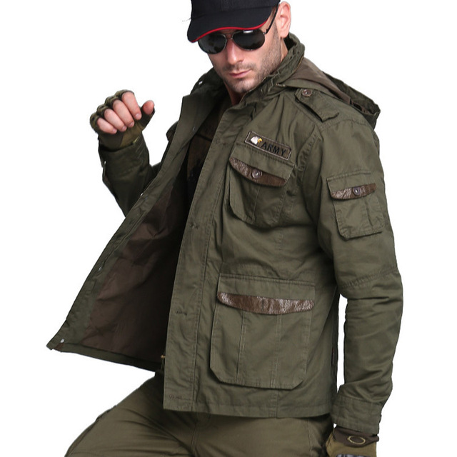 US Air Force Bomber Army Tactical Jackets For Men