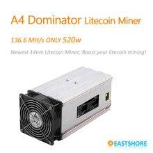 [Wyprzedane] Scrypt górnik 136MH A4 Dominator Litecoin górnik dla Scrypt górnictwa zastąpienie A2 Terminator
