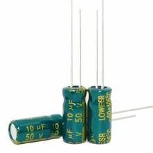 Cristal de alta frecuencia, 10 uf, 10 uf, 50 v, 50 v, 10 uf, 10 uf, 50 v, tamaño: 5x11mm, nueva calidad