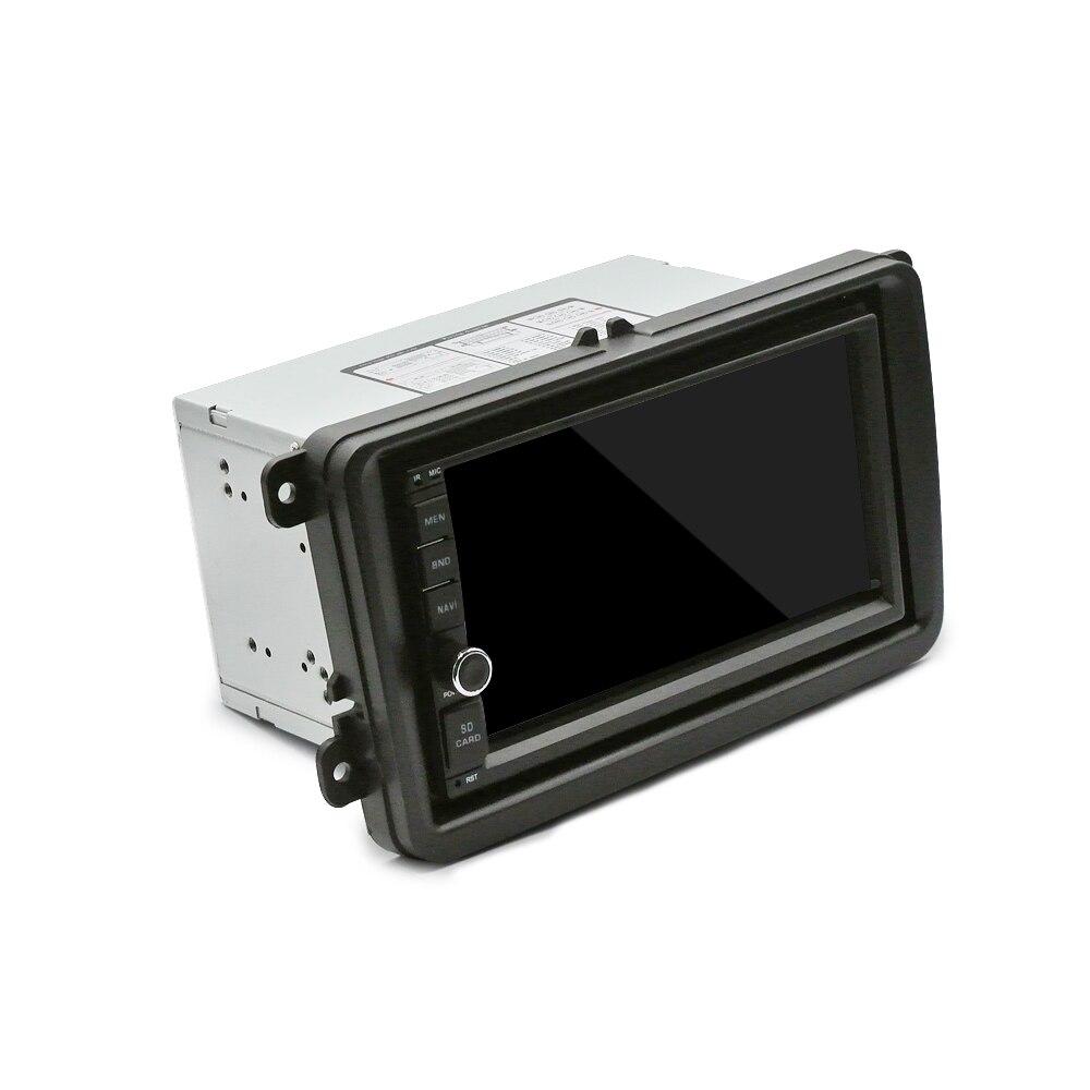 Автомобильная dvd-рамка для VOLKSWAGEN JETTA CADDY TOUREG, автомобильная стерео радио приборная установка, монтажная рамка, комплект для отделки, фасции, переходное радио 2DIN