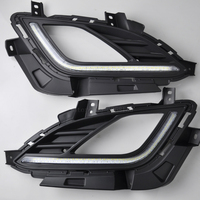 High Quality LED Daytime Running Lights Fog Lights For Hyundai Elantra Daytime Running Lights With Yellow